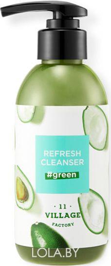Пенка для умывания Village 11 Factory Refresh Cleanser Green 185 гр