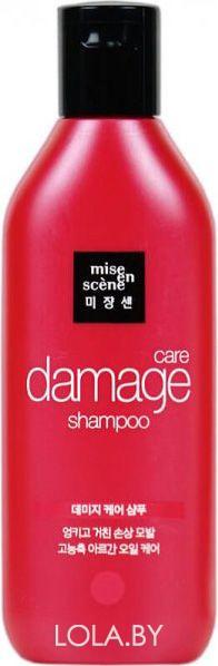 Восстанавливающий шампунь MISE EN SCENE Damage Care Shampoo 140 мл