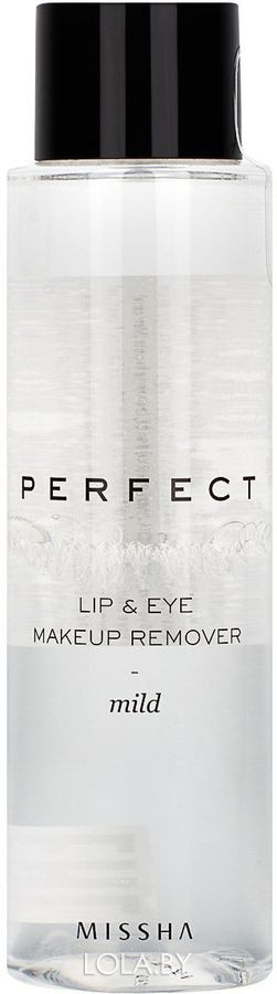 Средство для снятия макияжа MISSHA Perfect Lip & Eye Make-Up Remover Mild 155мл