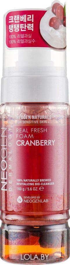 Омолаживающая пенка NEOGEN с клюквой Dermalogy Real Fresh Foam Cleanser Cranberry 120 гр