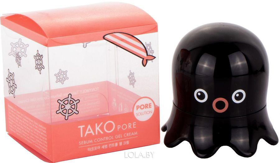 Крем Tony Moly контролирующий жирный блеск Tako Pore Sebum Control Gel Cream 50 мл