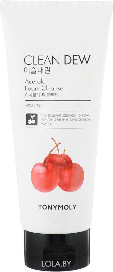Пенка для умывания Tony Moly Clean Dew Acerola Foam Cleanser 180 мл