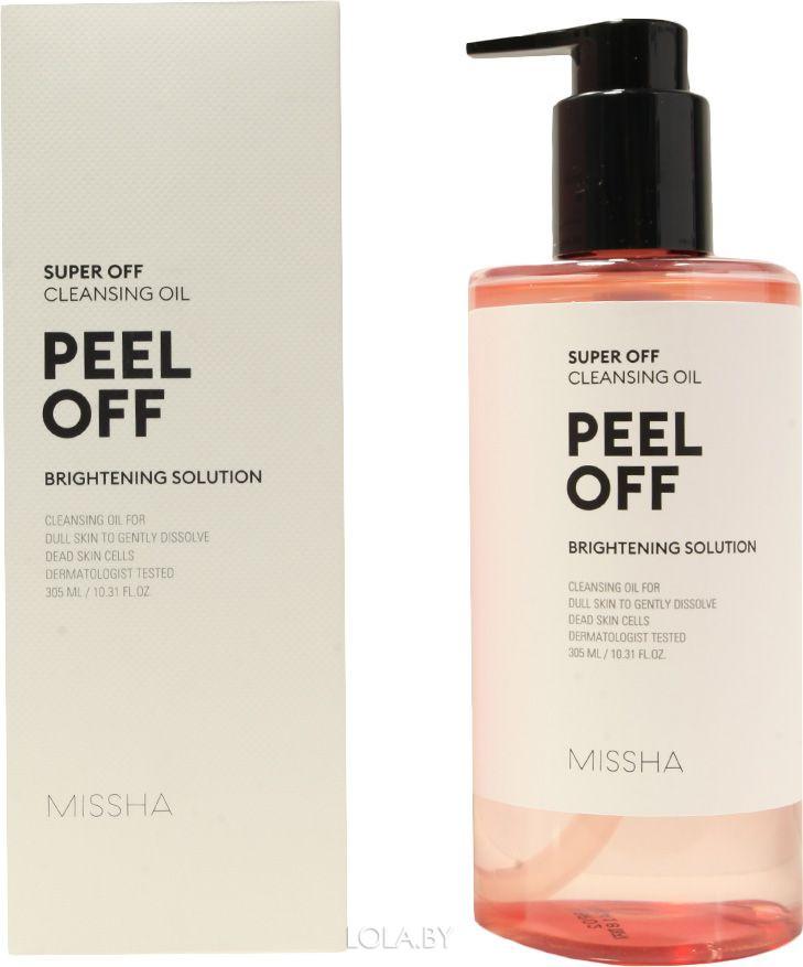 Гидрофильное масло MISSHA с пилинг- эффектом Super Off Cleansing Oil Peel Off 305 мл
