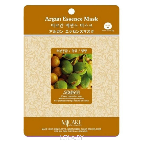 Тканевая маска для лица MIJIN Essence Mask аргана