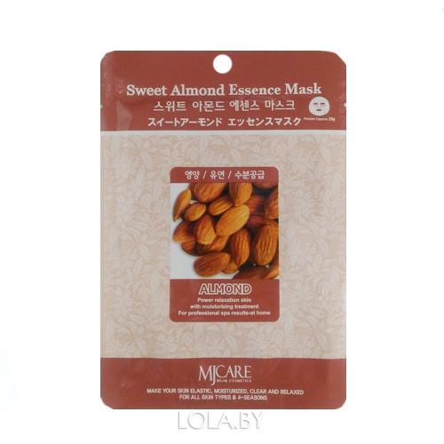Тканевая маска для лица MIJIN Essence Mask sweet Almond
