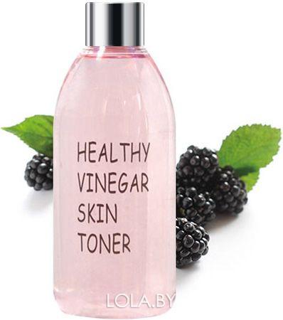 Тонер для лица REALSKIN ШЕЛКОВИЦА Healthy vinegar skin toner Mulberry 300 мл