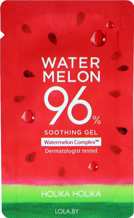 ПРОБНИК Гель Holika Holika для лица и тела Water Melon 96% Soothing Gel 3 мл