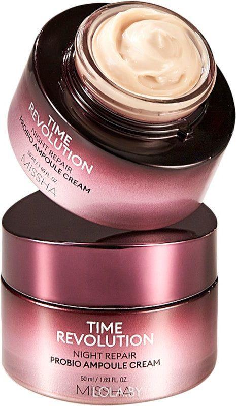 Крем для лица MISSHA Time Revolution Night Repair Probio Ampoule Cream 50мл