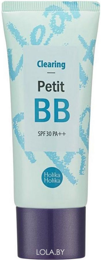 BB крем для лица Holika Holika Petit BB Clearing SPF30 PA++ 30 мл