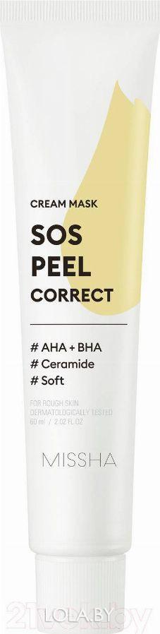 Маска для лица MISSHA SOS Peel Correct Cream Mask 60 мл