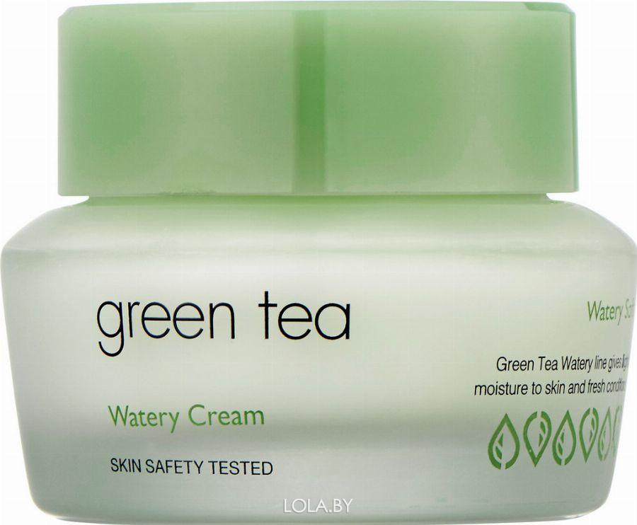 Крем It's Skin для жирной и комби кожи с зеленым чаем Green Tea Watery Cream 50 мл