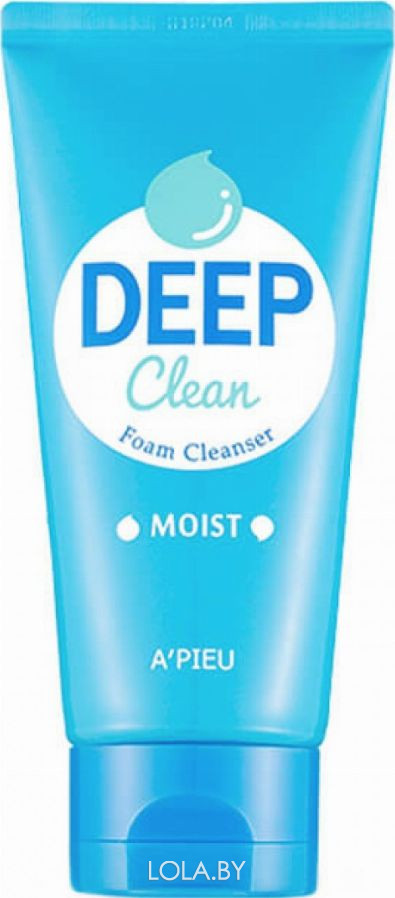 Увлажняющая пенка A'pieu для умывания Deep Clean Foam Cleanser -Moist- 130 мл