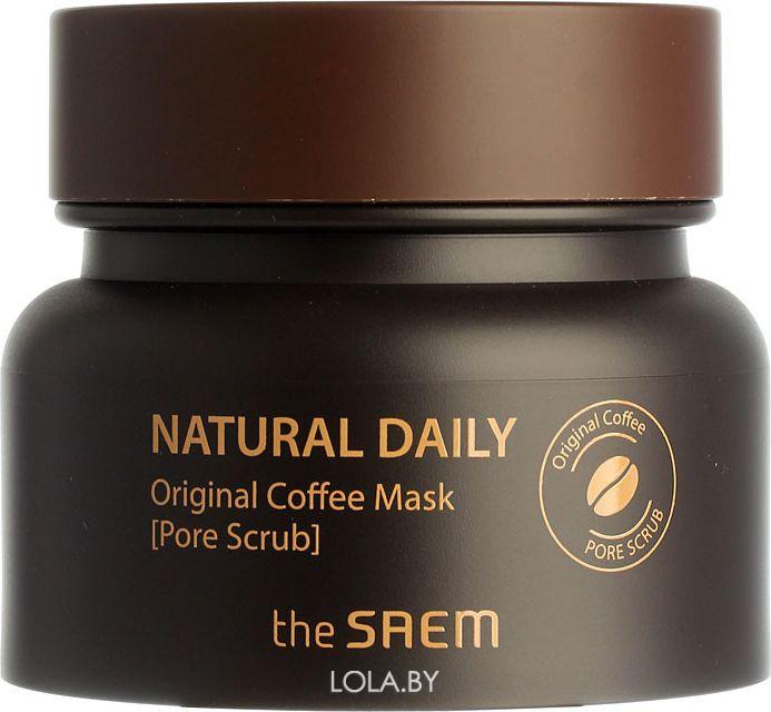 Маска для лица The SAEM кофейная Natural Daily Original Coffee Mask 100 гр