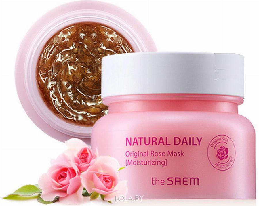 Маска для лица The SAEM с лепестками роз Natural Daily Original Rose Mask 100 гр