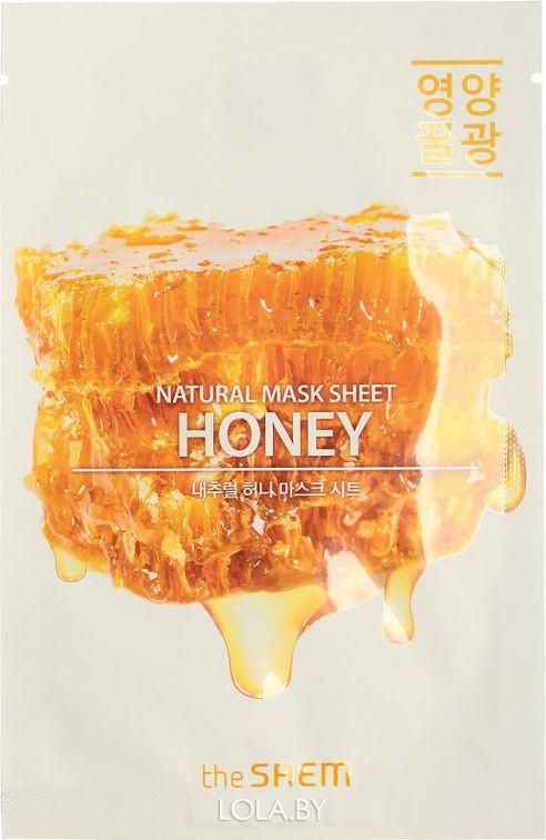 Тканевая маска The SAEM с экстрактом меда Natural Honey Mask Sheet 21 мл