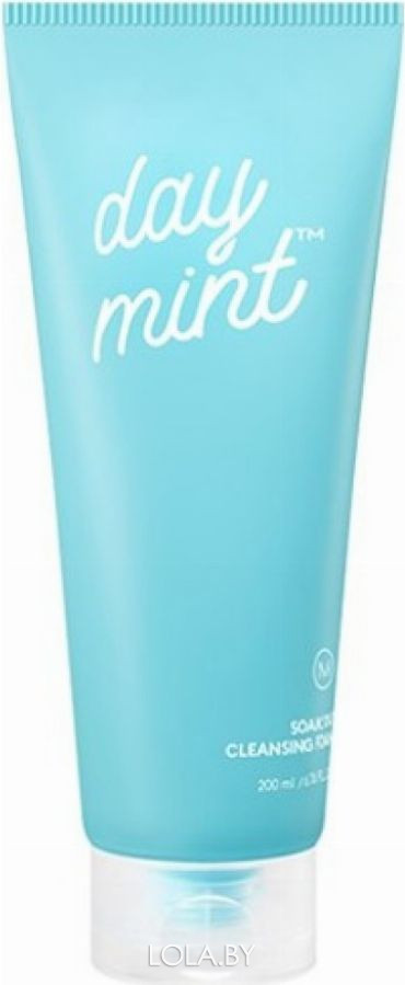 Пенка для умывания MISSHA с экстрактом мяты Day Mint Soak Out Cleansing Foam 200 мл
