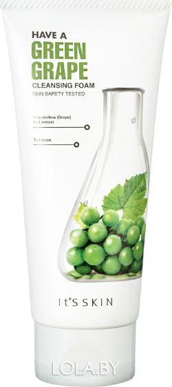 Омолаживающая пенка It's Skin Have a Greengrape Cleansing Foam 150 мл