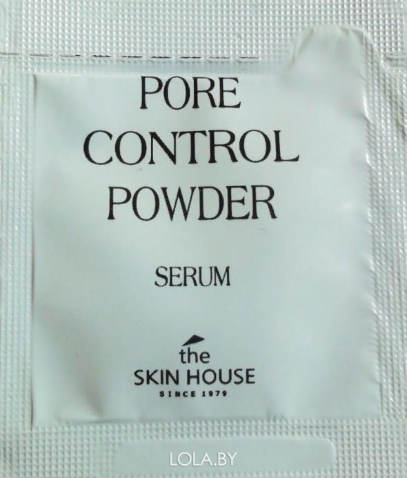 ПРОБНИК Себорегулирующая сыворотка Pore Control Powder The Skin House