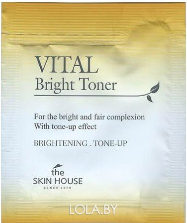 ПРОБНИК Тонер The Skin House Vital Bright Toner для сияния кожи