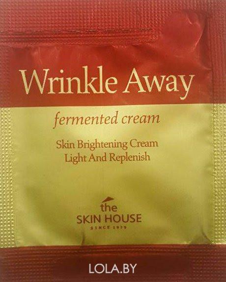 ПРОБНИК Обновляющий крем The Skin House Wrinkle Away fermented cream с экстрактом галактомисиса 2мл