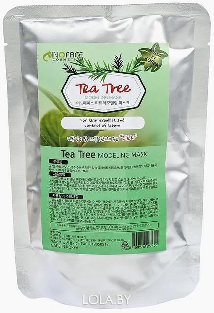 Маска для лица INOFACE альгинатная с экстрактом чайного дерева 200 гр