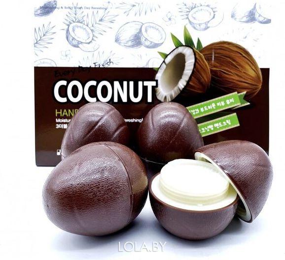 Крем для рук 3w Clinic с кокосом COCONUT Hand CREAM 30 гр 1 шт