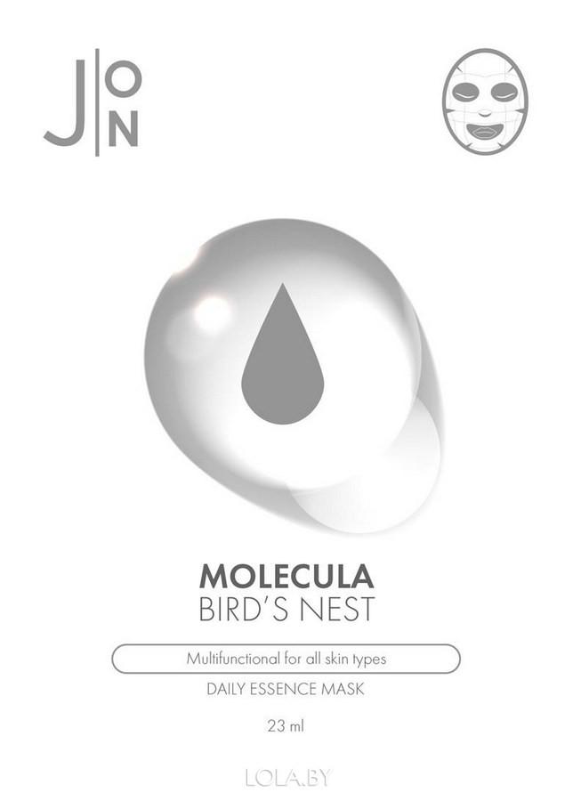 Тканевая маска для лица J:ON ЛАСТОЧКИНО ГНЕЗДО MOLECULA BIRD'S NEST DAILY ESSENCE MASK 23 мл