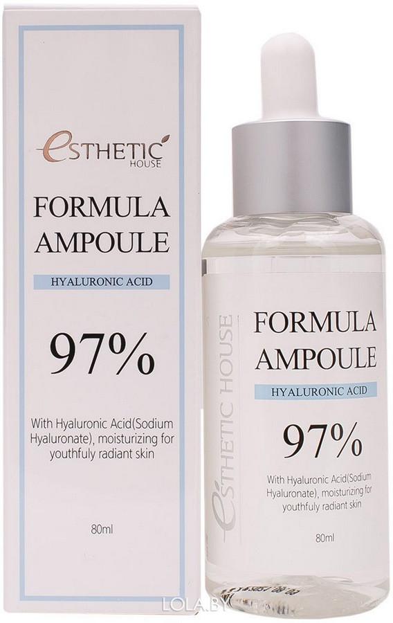 Сыворотка для лица Esthetic House с гиалуроном FORMULA AMPOULE HYALURONIC ACID 80 мл