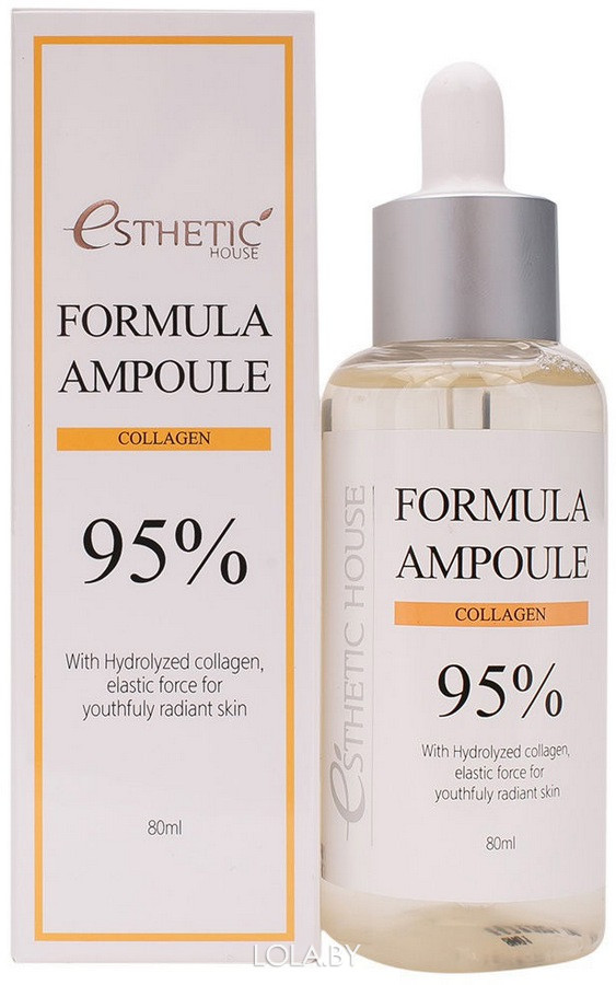 Сыворотка для лица Esthetic House с коллагеном FORMULA AMPOULE COLLAGEN 80 мл