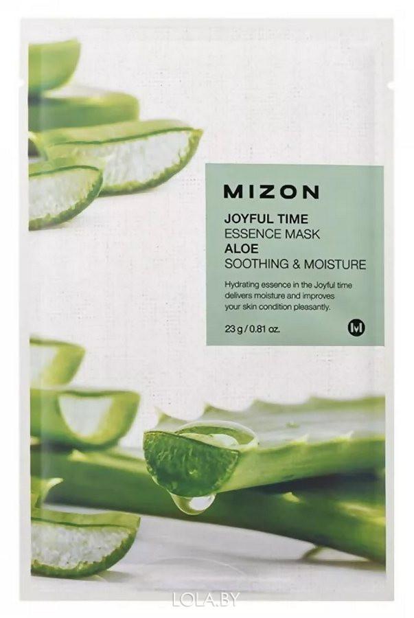 Тканевая маска для лица с экстрактом сока алоэ Mizon Joyful Time Essence Mask Aloe 23 гр