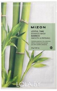 Тканевая маска для лица с экстрактом бамбука Mizon Joyful Time Essence Mask Bamboo 23 гр