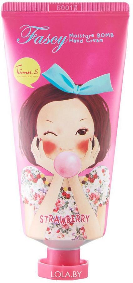 Крем для рук FASCY Moisture Bomb Hand Cream STRAWBERRY 40ml