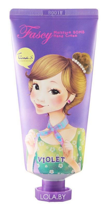 Крем для рук FASCY Moisture Bomb Hand Cream VIOLET 40ml