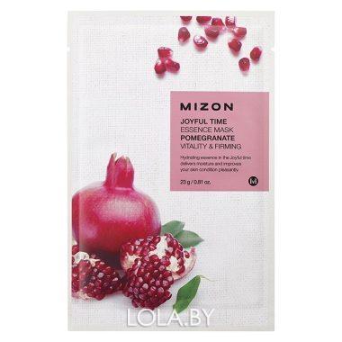 Тканевая маска для лица с экстрактом гранатового сока Mizon Joyful Time Essence Mask Pomegranate 23 гр