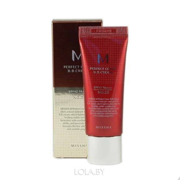 BB-крем MISSHA M Perfect Cover SPF42/PA+++ No.23 Natural Beige 20ml