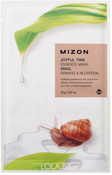 Тканевая маска для лица с экстрактом улиточного муцина Mizon Joyful Time Essence Mask Snail 23 гр