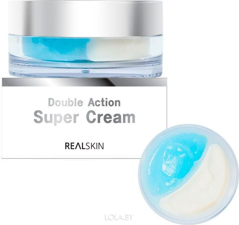 Крем для лица REALSKIN ДВОЙНОЙ Double Action Super Cream 100 гр