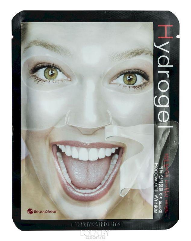 Гидрогелевая маска Beauugreen антивозрастная Renew Anti-Wrinkle 28 гр