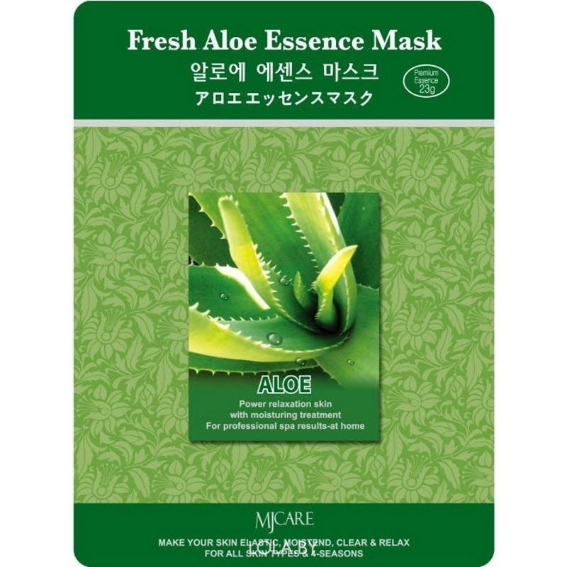 Маска тканевая для лица MIJIN Essence Mask алое