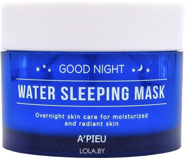 Ночная увлажняющая маска для лица APIEU Good Night Water Sleeping Mask 105 мл