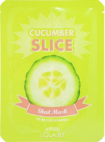 Тканевая маска для лица APIEU Cucumber Slice Sheet Mask