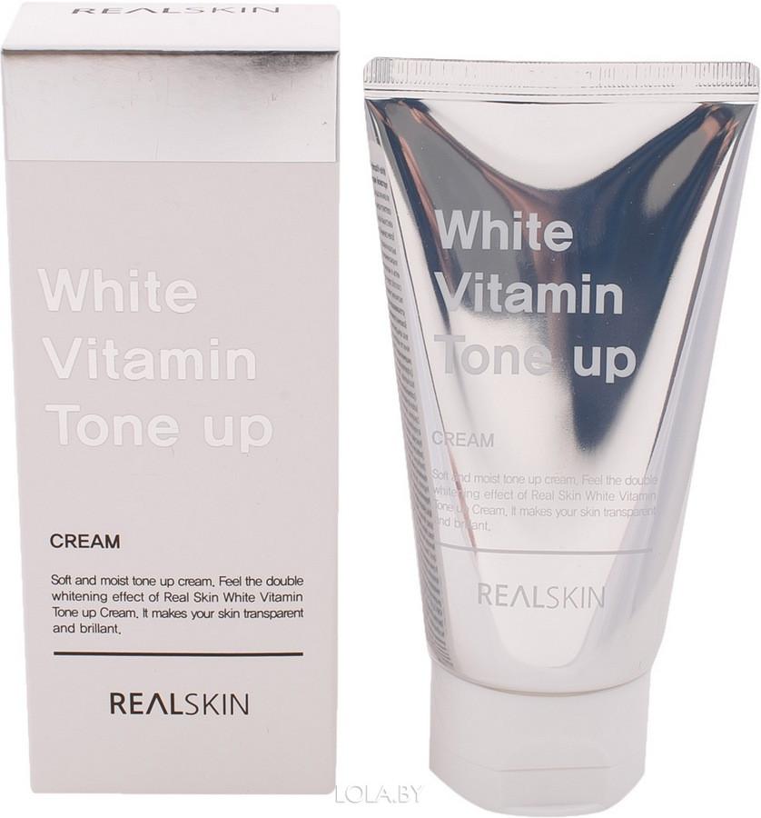 Крем для лица REALSKIN White Vitamin Tone-Up Cream 100 гр