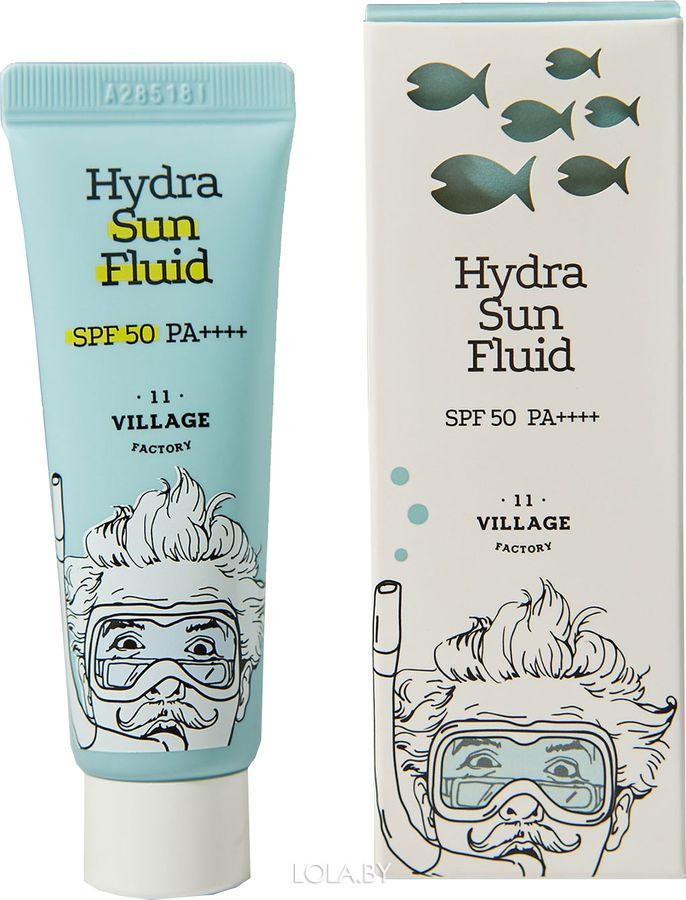 Солнцезащитный крем Village 11 Factory Hydra Sun Fluid SPF50+ PA++++ 25 мл