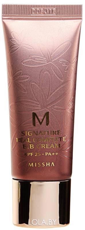 ВВ-крем MISSHA M Signature Real Complete SPF25/PA++ No.21/Light Pink Beige 20 гр