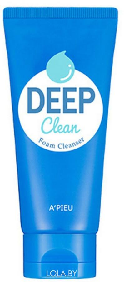 Пенка для умывания APIEU Deep Clean Foam Cleanser 130 мл