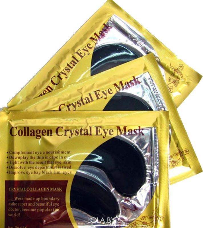 Патчи для глаз Deck out Women КОЛЛАГЕН И УГОЛЬ Collagen Crystal Eye Mask 1 пара