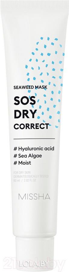 Маска для лица MISSHA SOS Dry Correct Seaweed Mask 60 мл