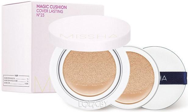 Тональная основа MISSHA Magic Cushion Moist Up Special Set No.21 + сменный блок + спонж