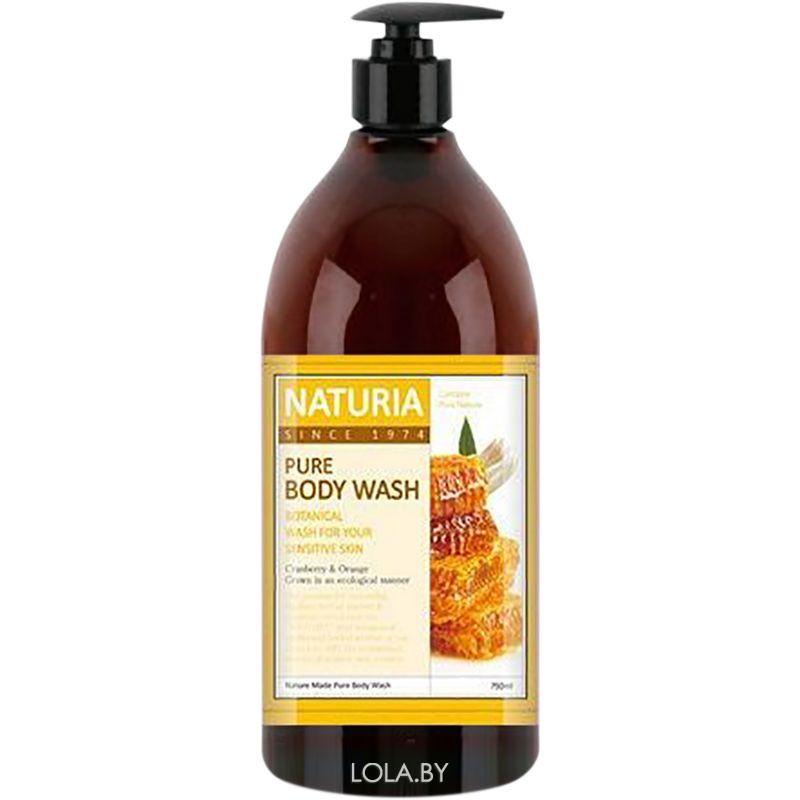 Гель для душа NATURIA МЕД, ЛИЛИЯ PURE BODY WASH Honey & White Lily 750 мл